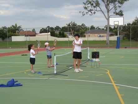1st tennis lesson
