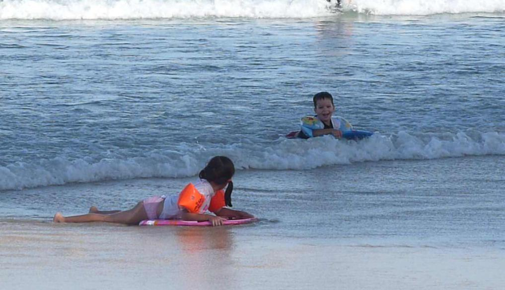 quot;Surfingquot; at Surfers Paradise.