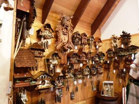 Clocks in German style.
