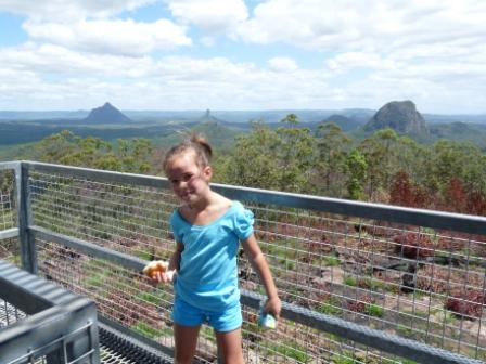 Watch Tower Glass House Mountains.
