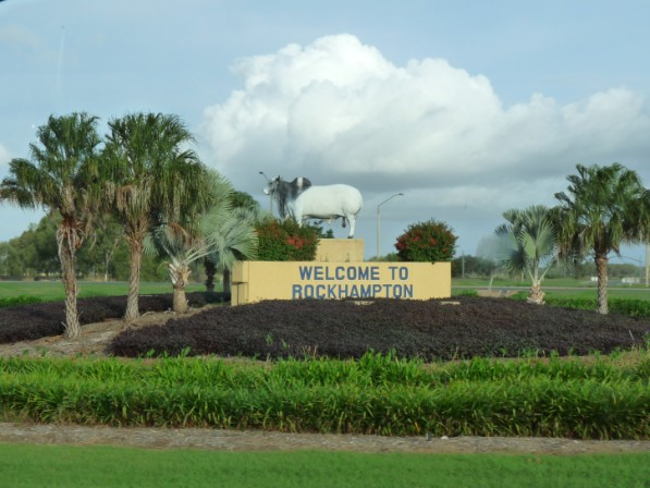 Welcome to Rockhampton, The Beef Capital.