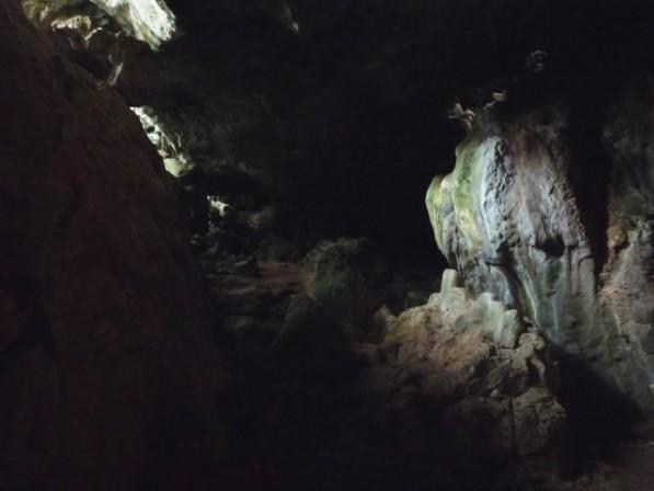 Cave impression.