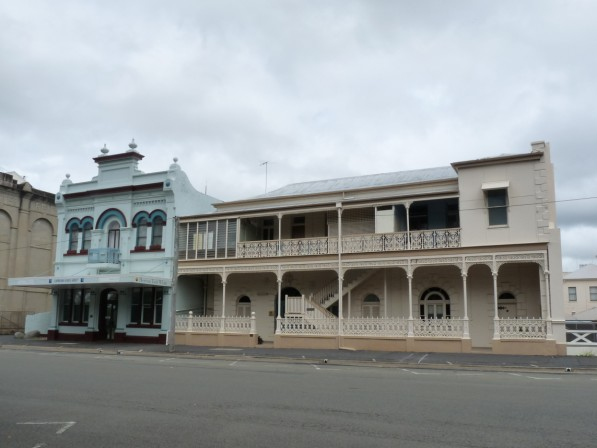 Buildings in Rockhampton.