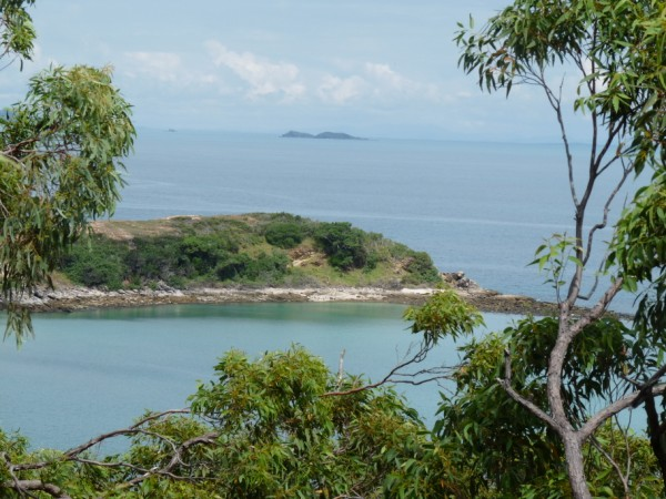 View from Keppel Island