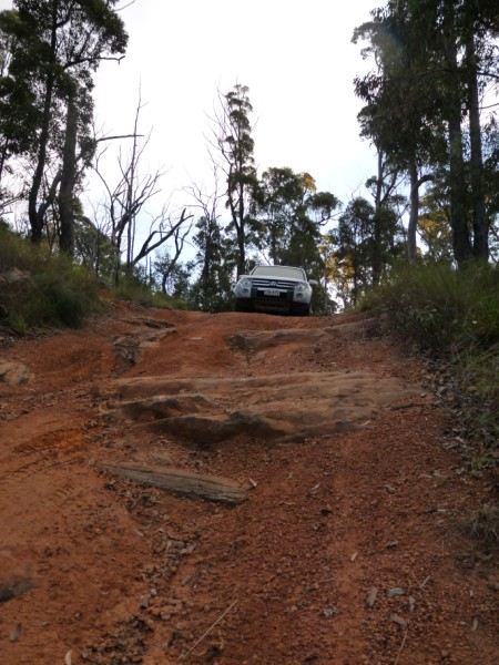 4WD track.