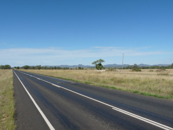 Gregory Highway to Canarvon National Park.