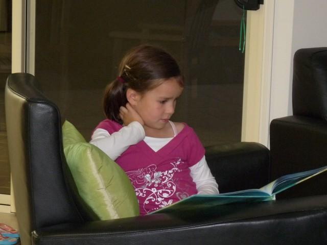 Huiswerk doen (lezen)