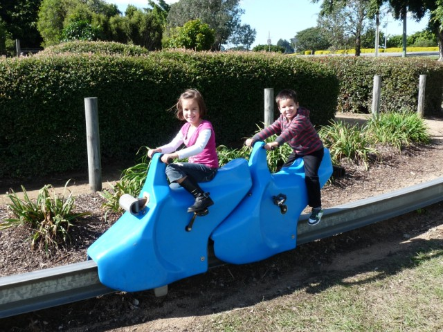 Pine Rivers Park playground.