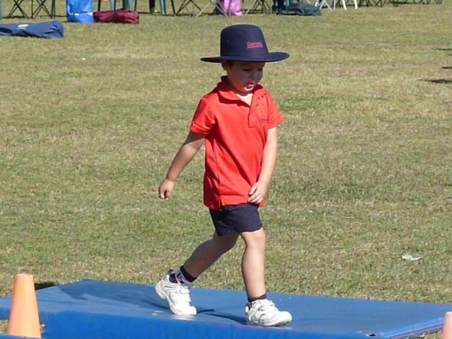 Jorick at Athletics Day