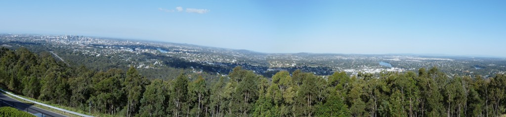 Mount Cootha lookout.