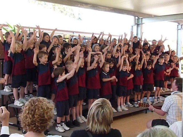 Performance on Grandparents Day by Prep year (incl. Jorick).